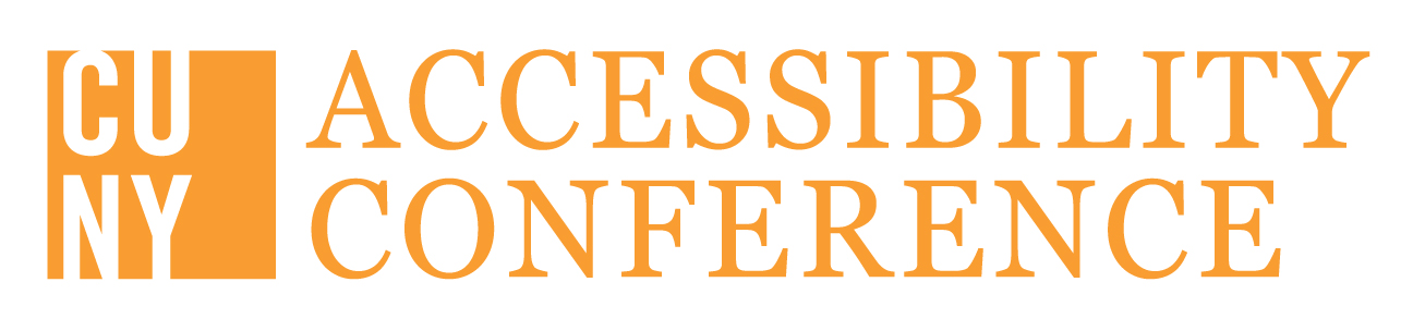 Logo for the CUNY Accessibility Conference
